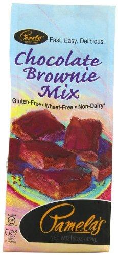 5 Savers Package:Pamela's Chocolate Brownie Mix Gluten Free (6x16 Oz)