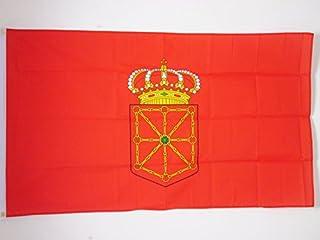 AZ FLAG Drapeau Navarre 150x90cm - Drapeau de Navarra - Espagne 90 x 150 cm - Drapeaux