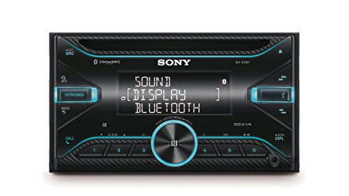 - Sony WX920BT 2-DIN CD Receiver with Bluetooth