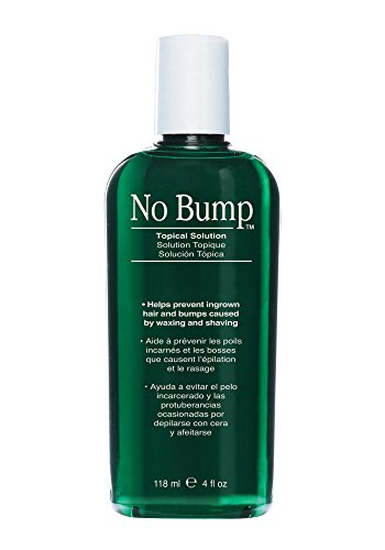 GiGi No Bump Skin Smoothing Topical Solution with Salicylic Acid for Ingrown Hair, Bumps, and Razor Burns, 4 (Razor Burn Bumps)