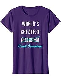 World's Greatest Grandma Great Shirt, Pregnancy Announcement
