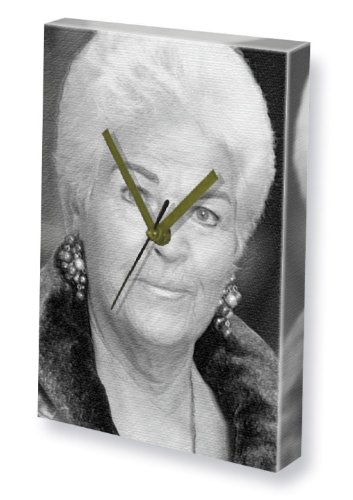 PAM ST.CLEMENT - Canvas Clock (A5 - Signed by the Artist) #js001