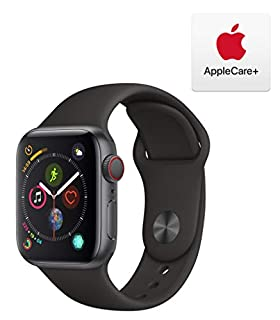 AppleWatch Series4 (GPS+Cellular, 40mm) - Space Gray Aluminum Case with Black Sport Band with AppleCare+ Bundle (B07RK4QL61) | Amazon price tracker / tracking, Amazon price history charts, Amazon price watches, Amazon price drop alerts