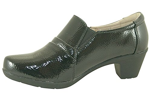 Heavenly Feet Colorado 3 Negro - negro (black patent)