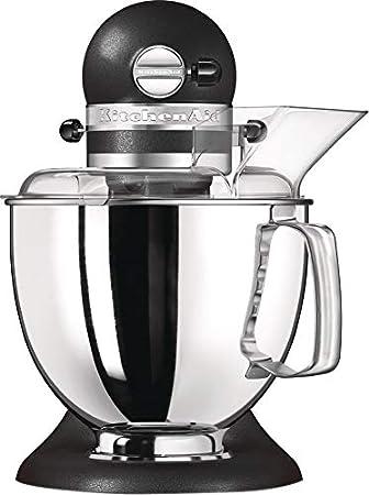 KitchenAid Artisan - Robot de cocina (4,8 L, Cromo, palanca, 220 RPM, 1,454 m, AC): Amazon.es: Hogar