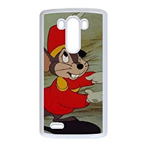 LG G3 Phone Case White Dumbo Timothy Q. Mouse NF4144954