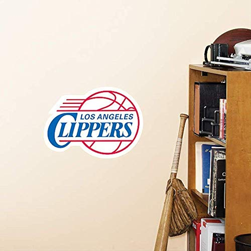 FATHEAD Los Angeles Clippers Team Logo Official NBA Vinyl Wall Graphic 12