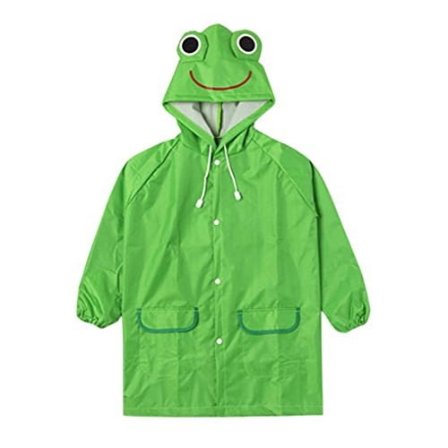Kids Frog Raincoat - 3
