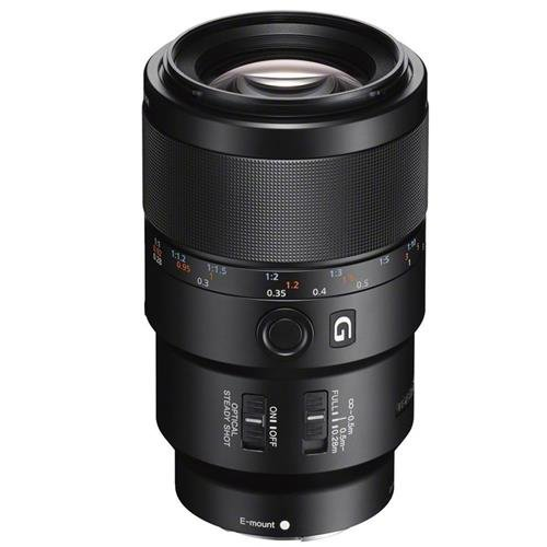 Sony SEL90M28G FE 90mm f/2.8-22 Macro G OSS Standard-Prime Lens for Mirrorless Cameras