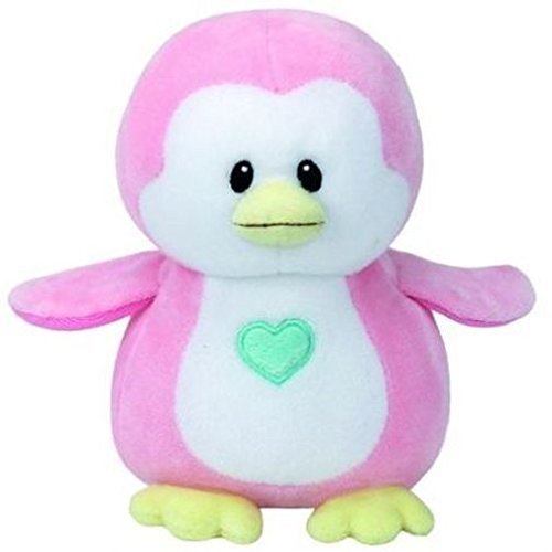 Penny Pink Penquin Baby Ty 8 inch - Stuffed Animal for Baby by Ty (32156)
