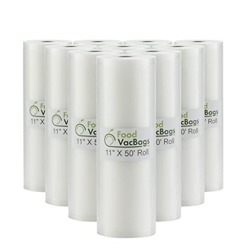 Vacuum Sealer Bags Commercial Grade (10 rolls)