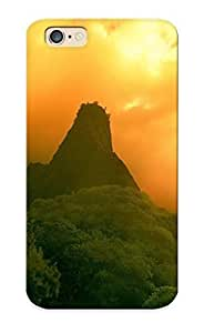 AsIyReJ181fXvHK pc Case Skin Protector For Iphone 6 Mountains Nature Jungle With Nice Appearance For Lovers Gifts