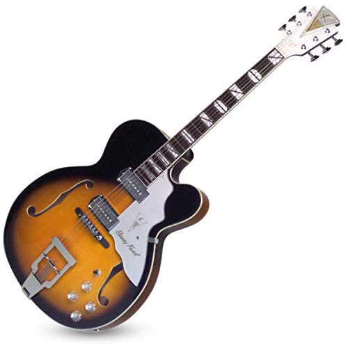Kay Vintage Reissue Barney Kessel 6 String Semi-Hollow-Body Electric Guitar, Right (K8700VTS)
