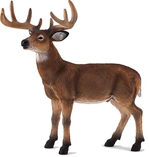 MOJO White Tailed Deer Buck Toy Figure American Wildlife