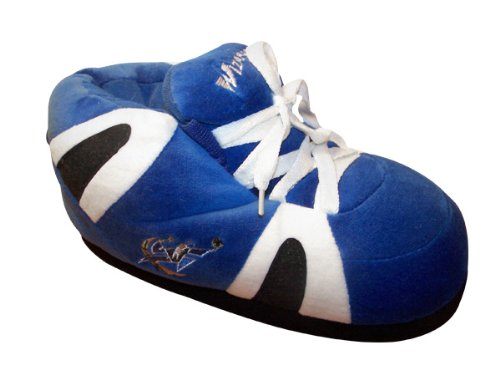 NBA Happy OFFICIALLY Washington and Comfy Feet and LICENSED Womens Mens Sneaker Wizards Slippers Feet wqwCZxzA