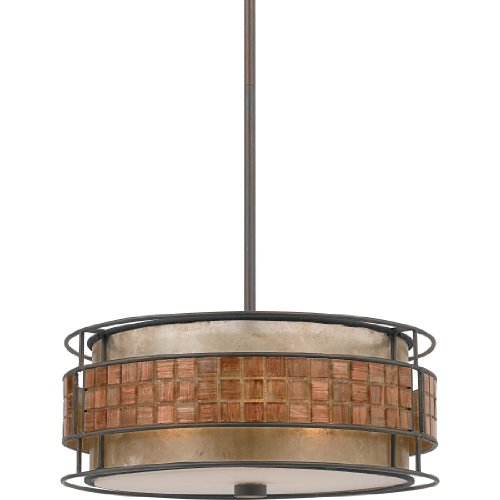 Quoizel Mc842Crc Mica 3 Light Pendant