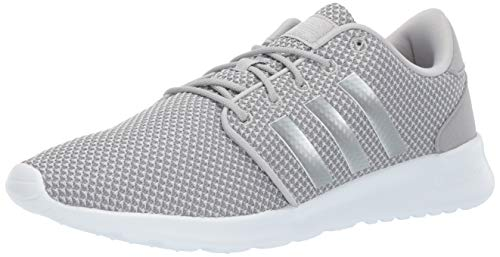 adidas Women's Cloudfoam QT Racer, Light Granite/Silver Metallic/Grey 7 M ()