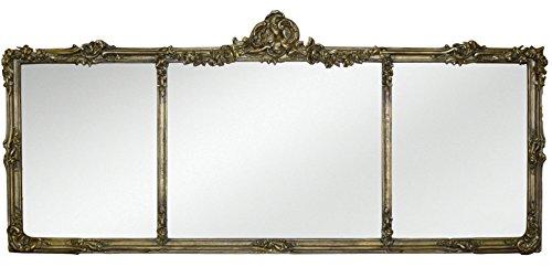 Hickory Manor House 3254AG Georgian Mantel Mirror/Antique ()