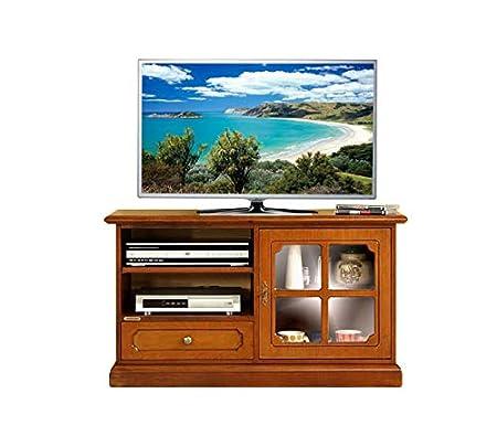 Porta Tv In Stile Classico.Arteferretto Mobiletto Porta Tv In Stile Classico Con Antina In