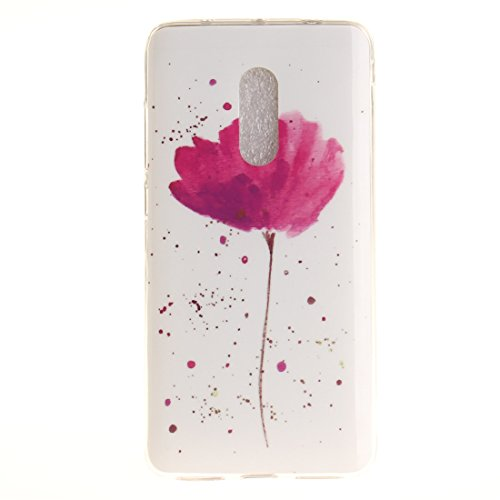 Motif En Redmi Scratch De Xiaomi flower Cas De Arrière TPU Hozor Note Peint Fit Bord Téléphone Couverture Souple Slim 4X Protection Résistant Silicone Antichoc Cas Transparent wAX5cnznq