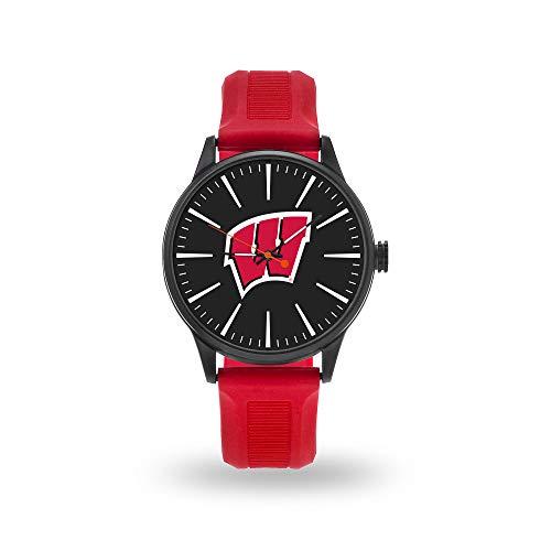 Rico Industries NCAA Wisconsin Badgers Watch, One Size, Team - Watch Badgers Team Wisconsin