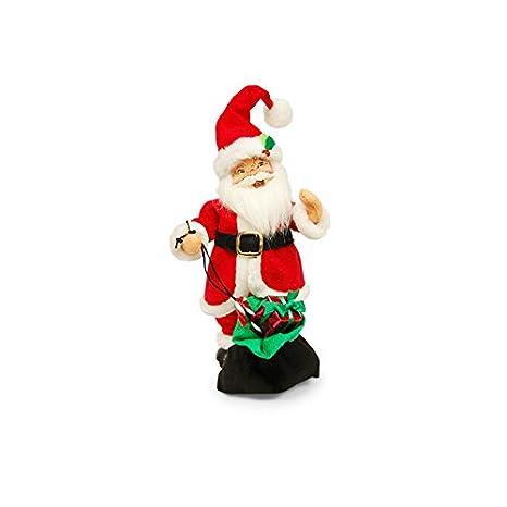 Amazon.com: Annalee – 15 en festivo Giftbag Papá Noel: Home ...
