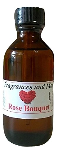 Rose Bouquet Fragrance Oil -2 oz Scented Oil for Soap & Candle Making - Bath Bombs- Body & Hair Products- Oil burners and Diffusers for Home & Office