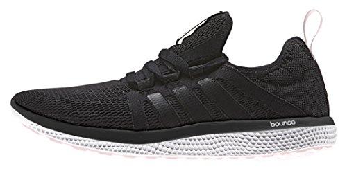 adidas CC Fresh Bounce W, Zapatillas de Running Para Mujer Negro / Blanco (Negbas / Negbas / Rolhal)