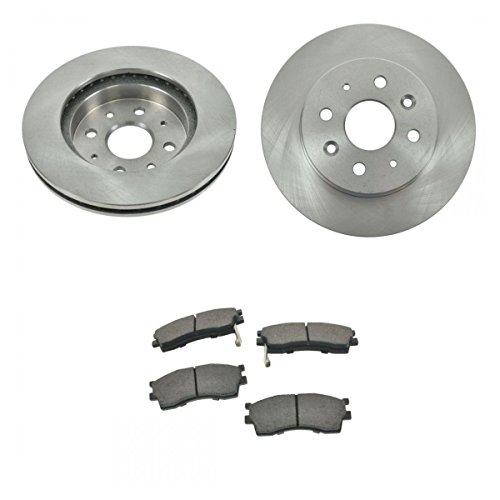 Front Ceramic Brake Pad & 2 Rotors Left & Right Set Kit For 03-05 Rio