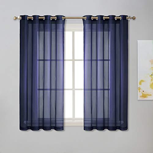NICETOWN Sheer Window Curtains 45
