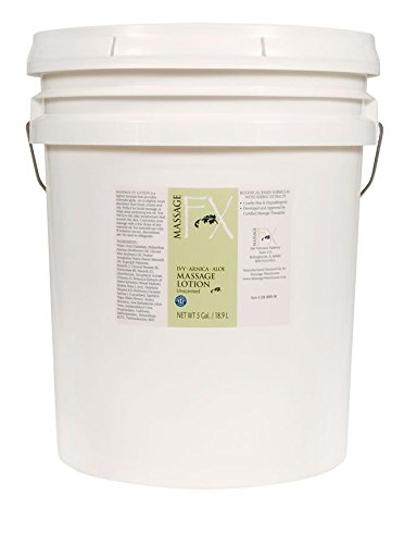 Massage Fx Massage Lotion - Paraben Free 5 Gallon by Massage FX