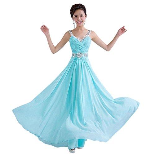 Drasawee Grün Damen Drasawee Damen Kleid Empire w5TUBqx