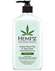 Exotic, Natural Herbal Body Moisturizer with Pure Hemp...