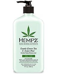 Hempz Exotic Herbal Body Moisturizer, Green Tea and...