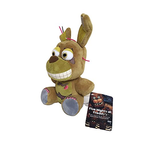 Amazon.com: 18cm Five Nights at Freddys 4 FNAF Bonnie Rabbit Plush Toys Soft Stuffed Animals Toys Doll for Kids Children Gifts: Clothing