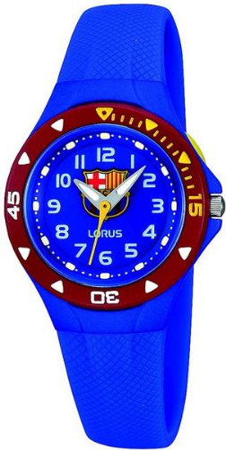 8dabd7fb63663 Lorus Reloj analogico para Chico de Cuarzo con Correa en Caucho R2365GX9   Amazon.es  Relojes