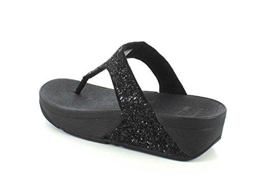 Fitfloph25 Donna Post 001 Black Glitterball Toe rTUWrBaq4