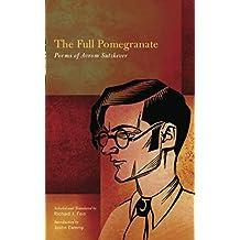 The Full Pomegranate: Poems of Avrom Sutzkever