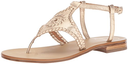 (Jack Rogers Women's Maci Dress Sandal, Platinum, 5 M US )