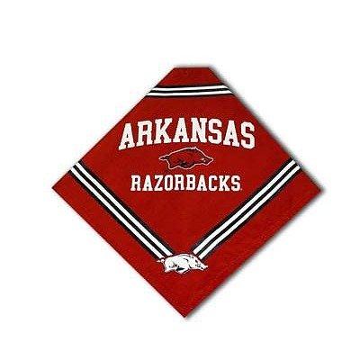 Sporty K9 Collegiate Arkansas Razorbacks Dog Bandana, Large