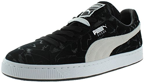 PUMA Suede Emboss Sneaker Black/White clearance 100% guaranteed outlet many kinds of shipping discount sale sale view wholesale price tzMRKE