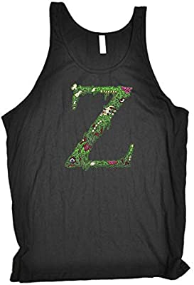 Z For Zombie Funny Novelty Vest Singlet Top