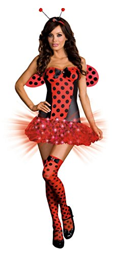 Women (Light Me Up Ladybug Dress Costumes)
