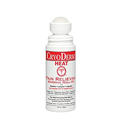 Cryoderm Heat Roll-On 3 oz.