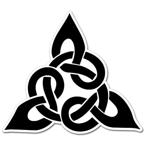 (AK Wall Art Celtic Knot Trinity Irish Vinyl Sticker - Car Window Bumper Laptop - Select Size)