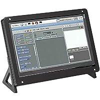 7-calowy ekran dotykowy i obudowa, wyświetlacz ASHATA 1024 * 600 HDMI Zestaw obudowy z ekranem dotykowym, pojemnościowy…
