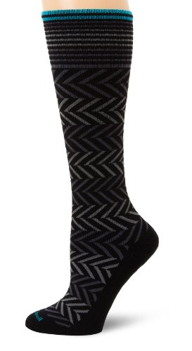sockwell-womens-chevron-circulator-sock-medium-large-black