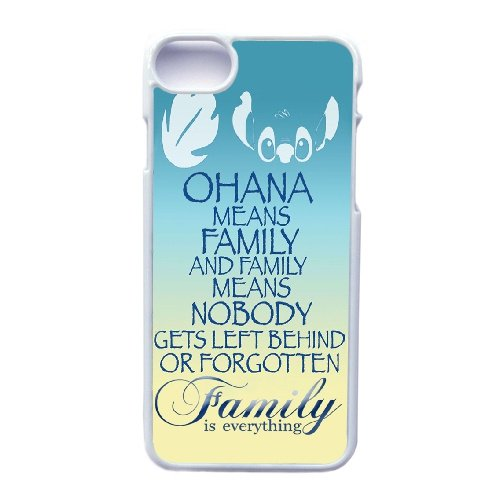 Coque,Apple Coque iphone 7 (4.7 pouce) Case Coque, Generic Family Is Everything Quote Ohan Cover Case Cover for Coque iphone 7 (4.7 pouce) blanc Hard Plastic Phone Case Cover