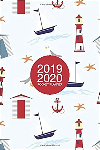 2019-2020 Pocket Planner: Monthly Planner 2-Year 24-Month ...