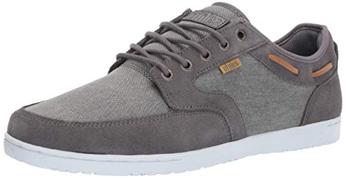 Etnies Men's Dory Skate Shoe, Grey/Silver, 11 Medium US